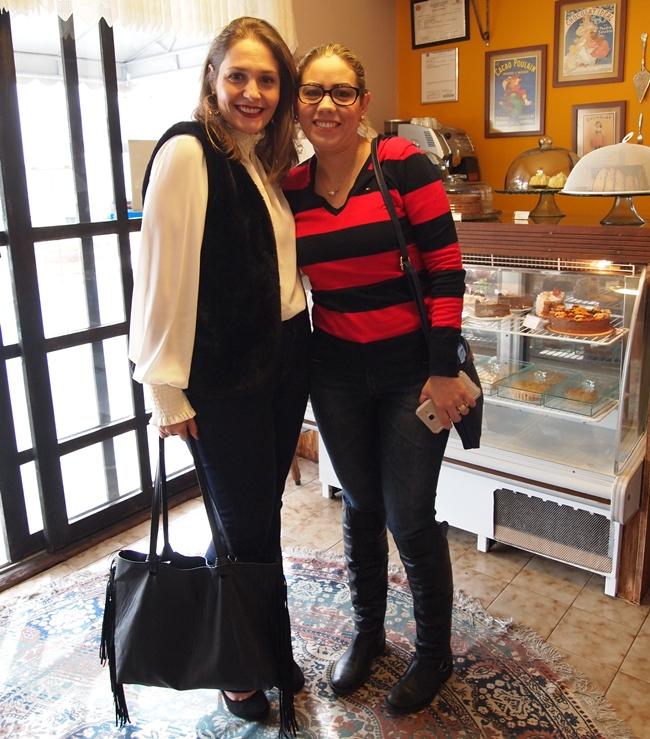 Michelle e Tassiane - aproveitando as dicas para turbinar seus negócios