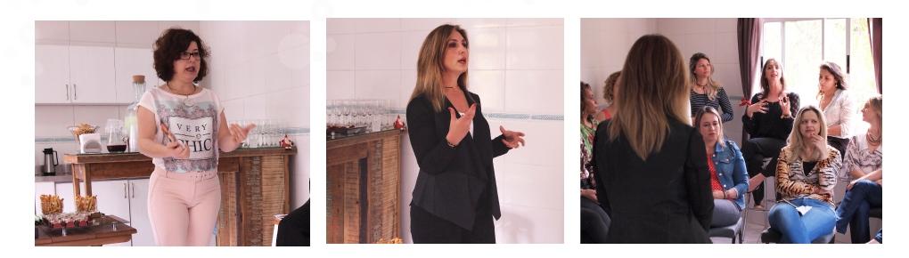 Coaching Andrea Montrucchio para um bate-papo com as Empreendedoras