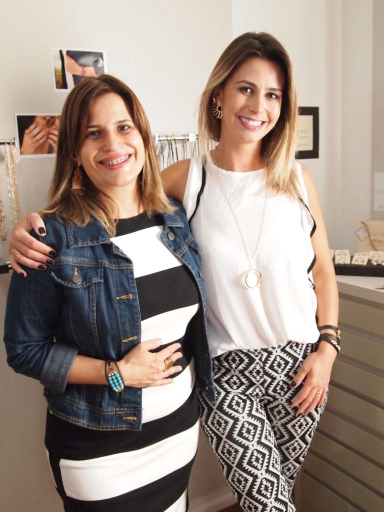 Dai Fardin com a Empreendedora Stilla Jaqueline Betineli