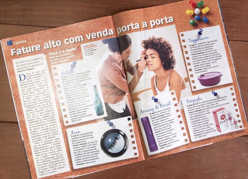 Foto Matéria Revista Ana Maria