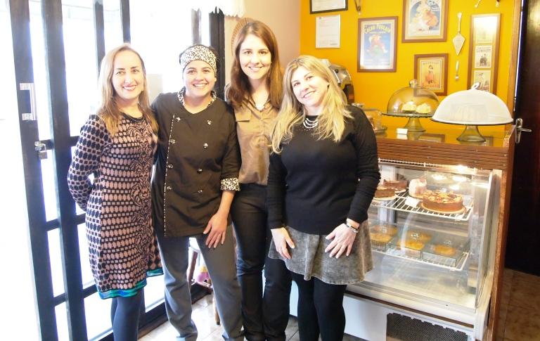 Teresinha, Ana da Donana Confeitaria, Marianne e Ana Nery